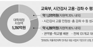 강사법 후폭풍에 강의줄인 대학, 내년 `재정 불이익…